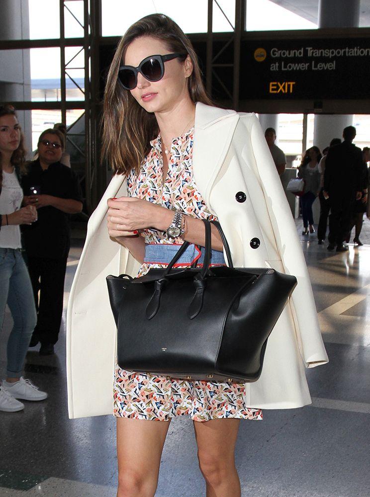 This Week Celebs Fall Back On Their Favorite Celine Bags And More Purseblog Celine Miranda Kerr Fashion