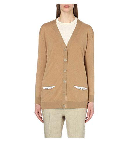 LOEWE Longline Wool Cardigan. #loewe #cloth #knitwear | Loewe ...
