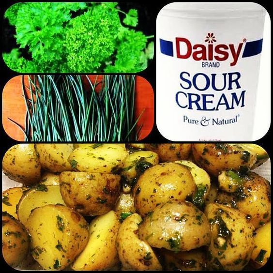 Sour Cream And Chives Potato Ala Kenny Rogers Roasters Sour Cream Chives Sour Cream Vegetable Recipes