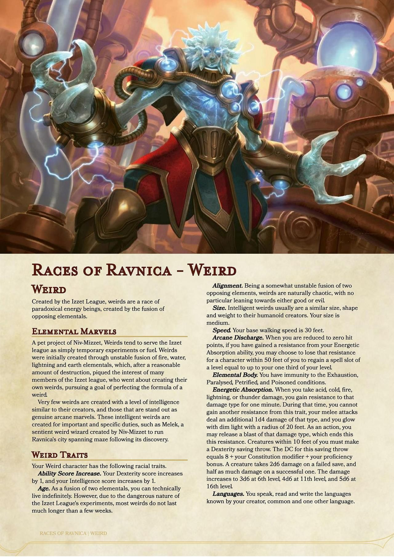 Races Of Ravnica Kraul And Weird Version 2 Download The