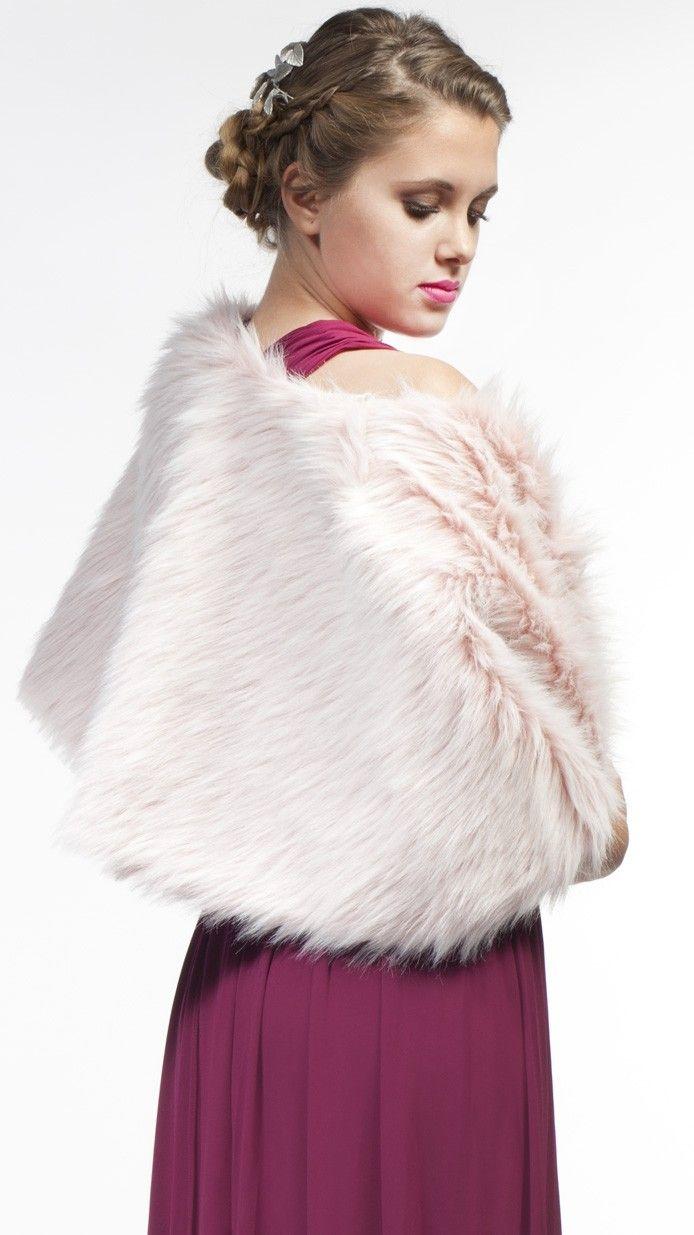 DRESSEOS - Capa de piel sintética rosa, perfecta para cualquiera de ...