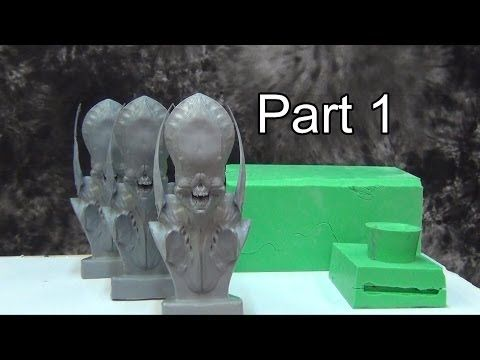 silicone mold making multi piece mold part 1 toyz pinterest moulage sculpture et peinture. Black Bedroom Furniture Sets. Home Design Ideas