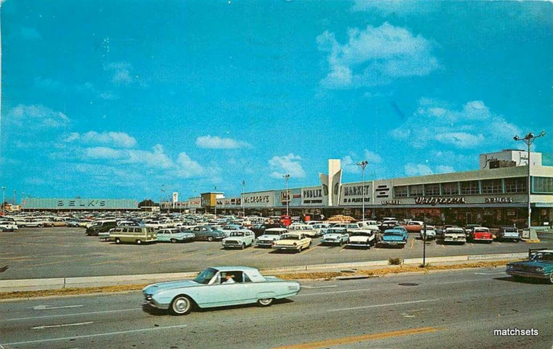 Colonial Mall Shopping Plaza, circa mid 1960's Cocoa