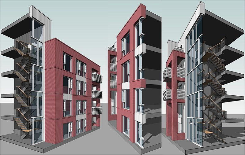 Glimpses of Architectural BIM modeling by TESLA