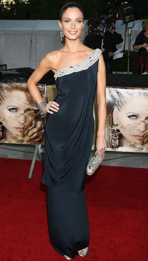 Georgina Chapman is perfect in one of her own Marchesa creations