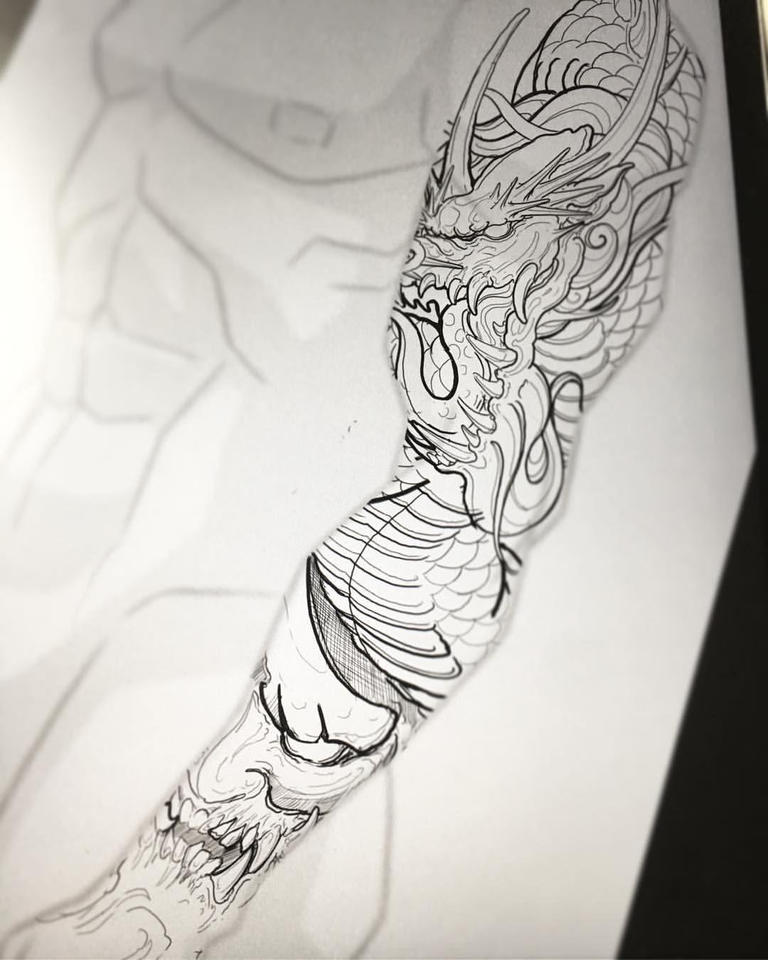 Chronic Ink Tattoo Kitsilano Vancouver Asian Tattoos Ed Truong Hannya Dragon Tatuirovki Rukava Izredzumi Tatuirovki Samurajskoe Tatu