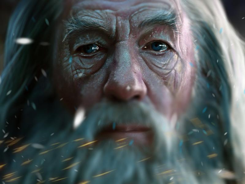 25 Breathtaking Digital Paintings from Dribbble | Gandalf ...