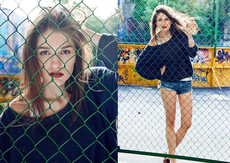 Улица .. Модель: Анна @ DSC фотограф: Жанна и Олег Тепловы