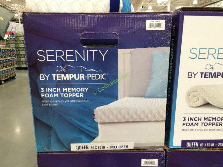 memory foam mattress topper costco