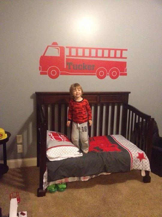 Firefighter Living Room Decor: #firemen #uppercaseliving Vinyl