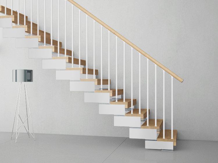 Best The Composity Modular Staircase Has A Contemporary Design 400 x 300
