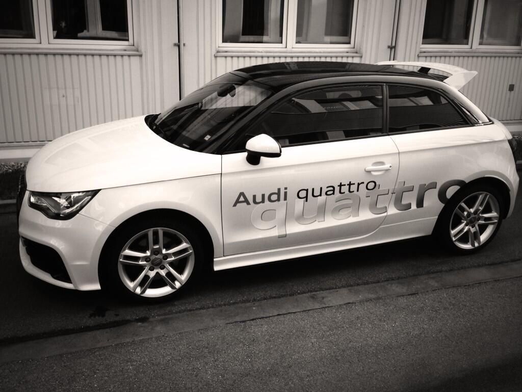 Audi On Audi Car Wrap Audi A1