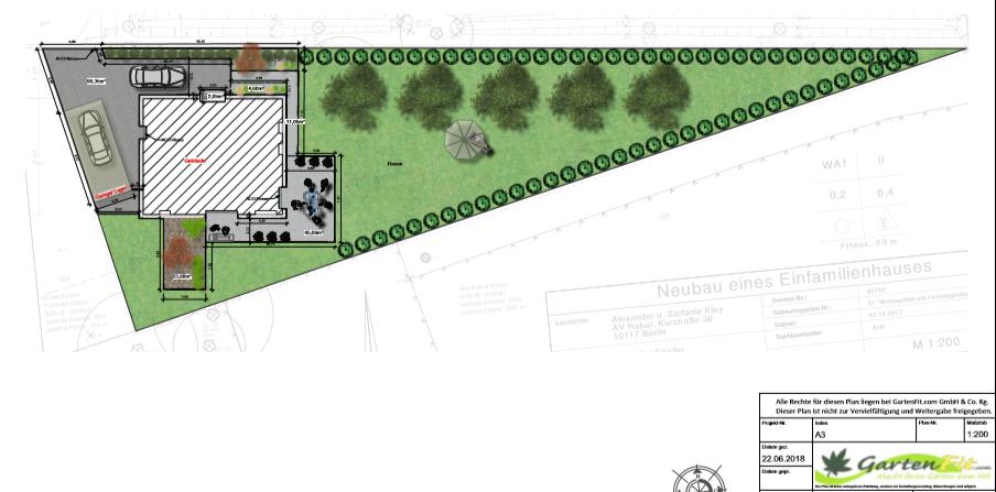 Auch Fur Dieses Dreieckig Spitz Zulaufende Grundstuck Holten Wir Mit Unserer Planung Das Beste Heraus Holzterrasse Bangkirai Planer