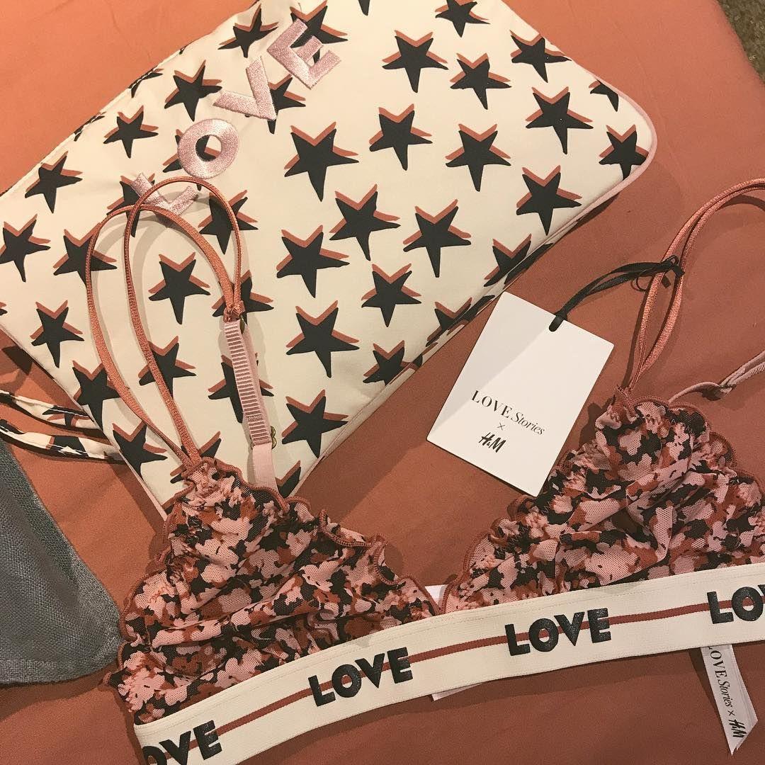 h&m cv en ligne Love Stories x H&M in Paris #collaboration #lingerie #global  h&m cv en ligne