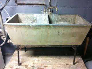 vintage soapstone sinks