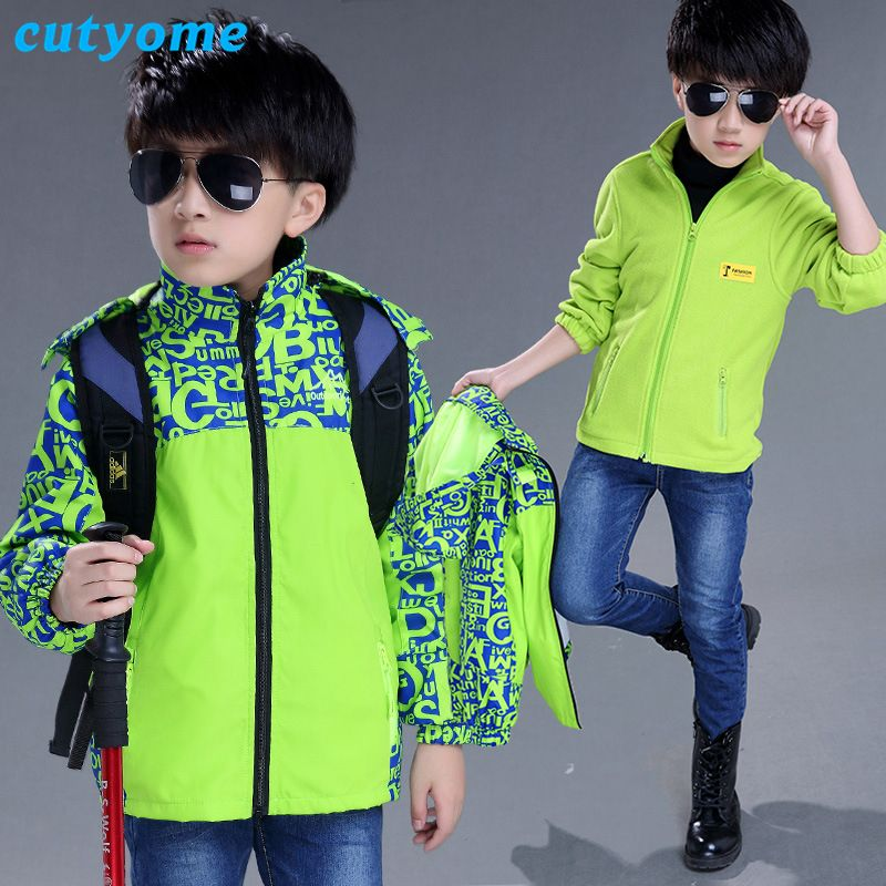 ebde01315 Cutyome Winter Jacket Clothes for Big Boys Fashion Windbreakers ...
