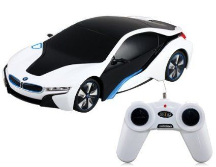 Bmw I8 Concept Radio Remote Control Rc Sports Car 1 24 Scale Model