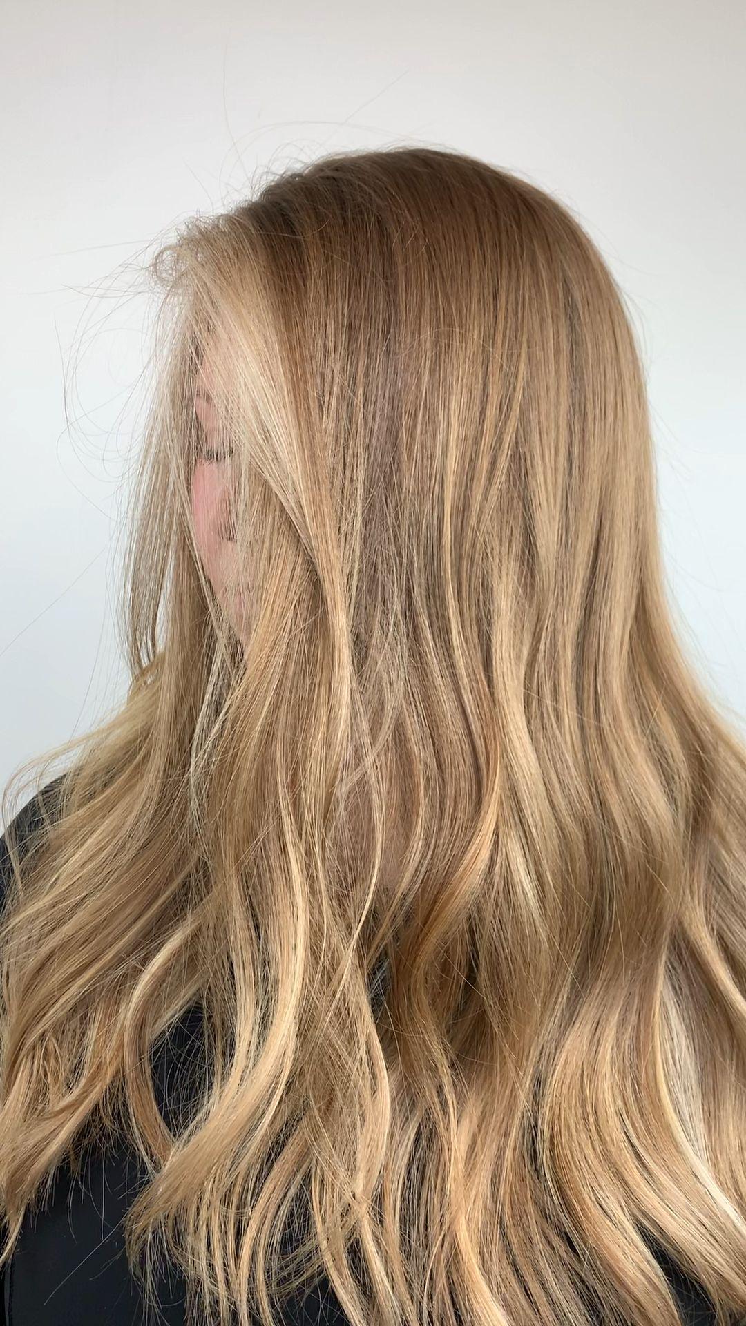 Natural blonde color