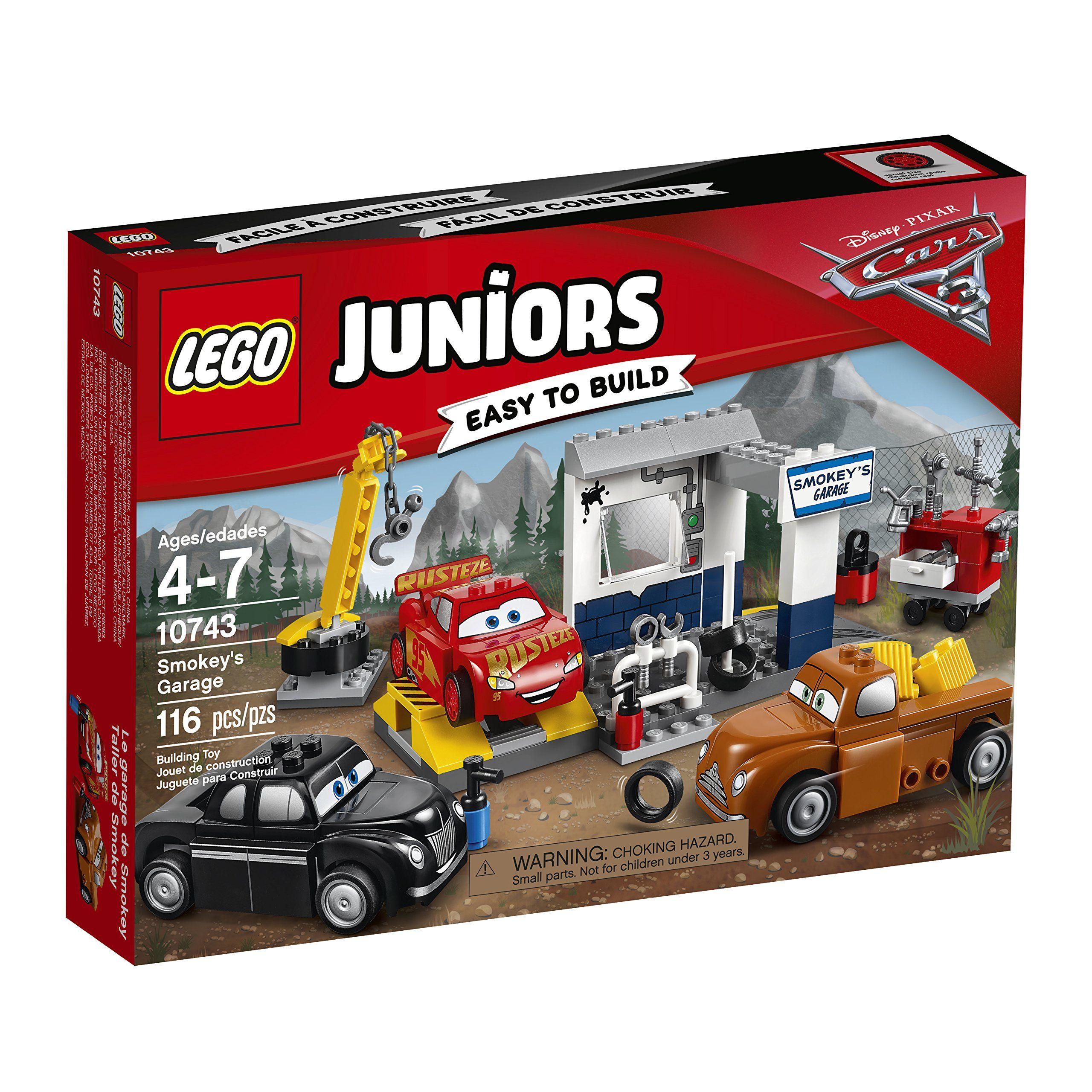 Lego Juniors Smokeys Garage 10743 Building Kit Visit The Image