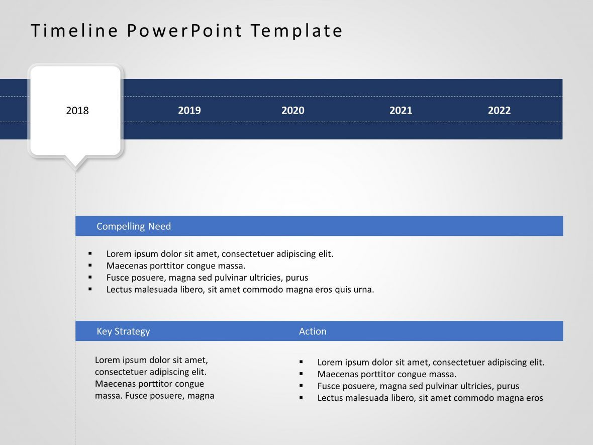 Timeline Powerpoint Template 48