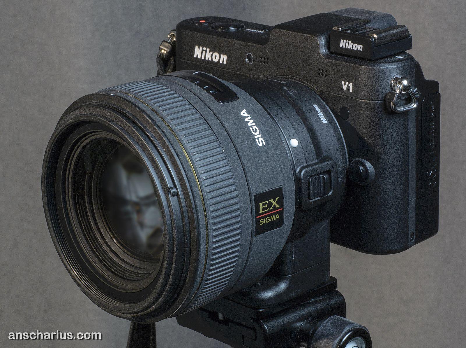 Nikon 1 V1 Ft1 Sigma Ex Dc 1 4 35mm Nikon Sigma Camera Bag