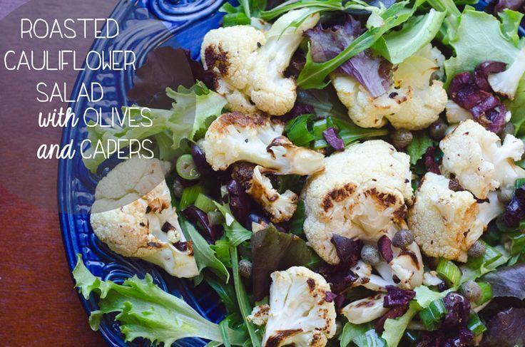 Gebratener Blumenkohlsalat Mit Oliven Und Kapern | Also ... Lass uns abhängen G ...  - Recipes to Try: Side Dishes -