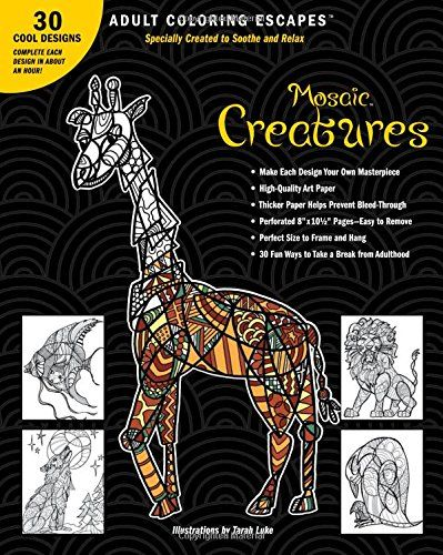 Adult Coloring Escapes Books For Adults