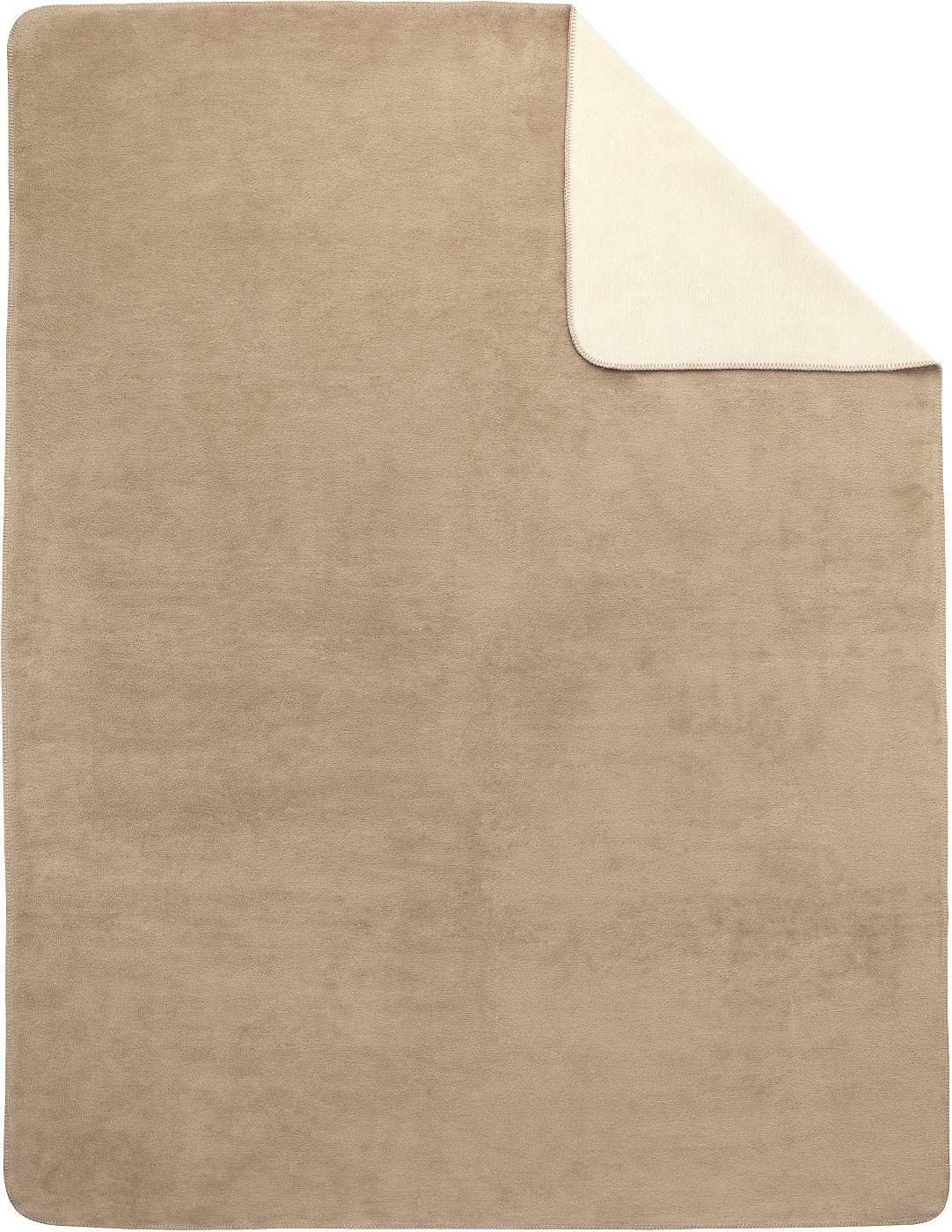 Artikeldetails:  Decke uni, Mit geketteltem Zierstich,   Material/ Qualität:  60% Baumwolle, 40% Polyacryl, Flächengewicht in g/m²: ca. 415,   Pflegehinweis:  30°C-Schonwäsche, Pflegeleicht, Trocknergeeignet,   Wissenswertes:  Bitte beachten Sie, dass die Farben auf Ihrem Monitor von den Originalfarbtönen abweichen können.,   Qualitätshinweis:  Geprüfte Qualität - dieser Artikel untersteht lauf...