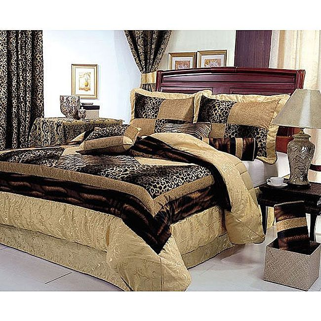 Cheetah Print Bedroom Ideas | ... .com: Animal Prints ~ Making A Lovely  Trend For Bedding Sets