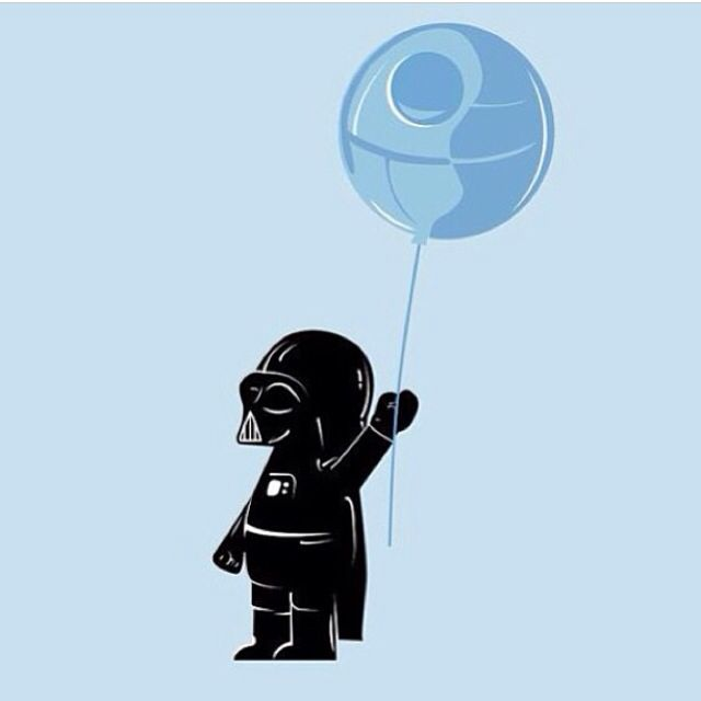 My Death Star Baloon #darthvader #deathstar