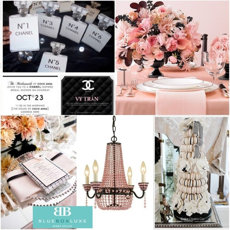Image Result For Chanel Themed Wedding Lets Get Inspired