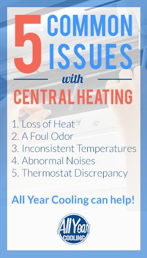 5 Central Heating Issues You Might Come Across These Next Few