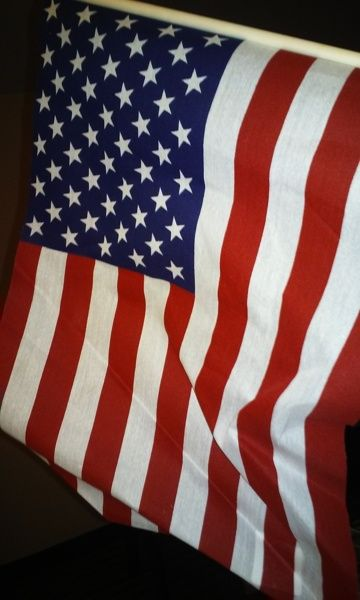 "12""x18"" us flag (Inches)"