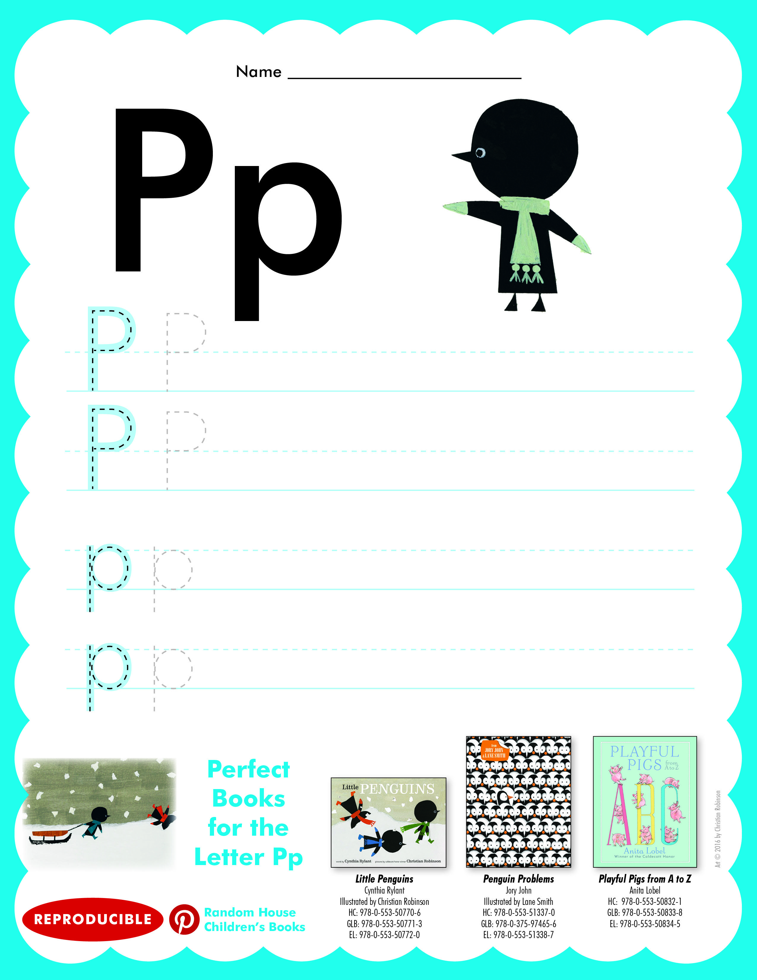 Have Students Practice Writing Letter Pp Then Read Little