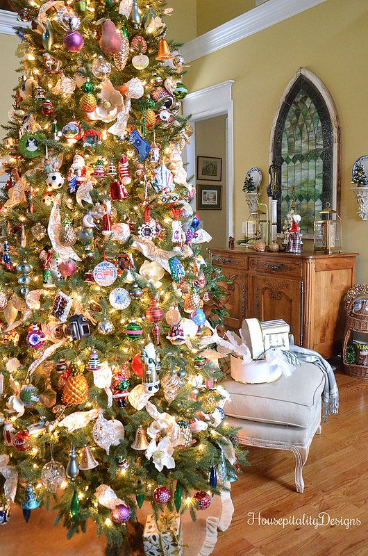 The Great Room Christmas Tree French Country Christmas French Christmas Tree Christmas Home