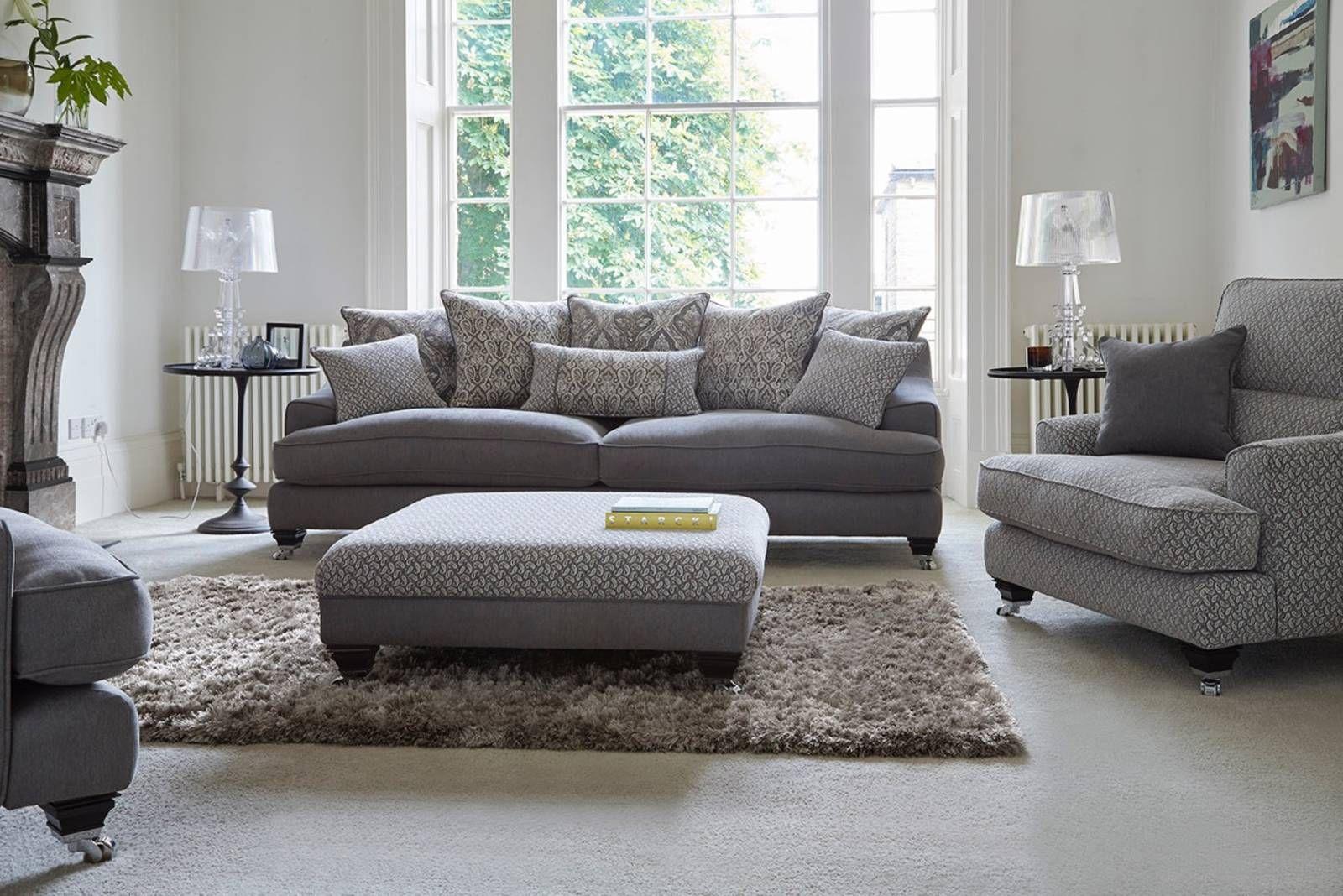 Bergen Sofology Sofa Grey Leather Corner Sofa Cushions On Sofa
