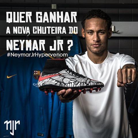 www.neymaroficial.com  Você tem até o dia 23 para publicar sua foto e participar.  You have until day 23 to publish your photo and participate.  Tienes hasta el día 23 para publicar su foto y participar.  #neymarjrhypervenom #neymar #neymarjr #njr