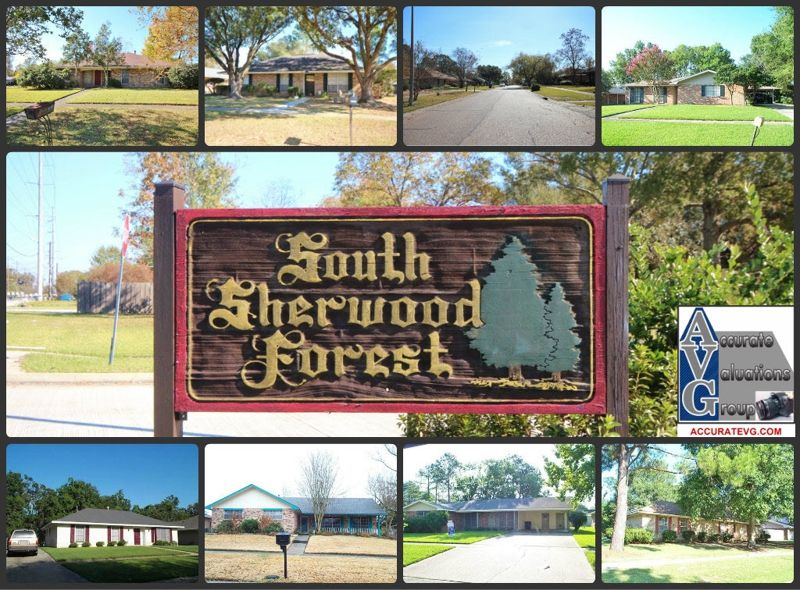 South Sherwood Forest Subdivision Baton Rouge 2012