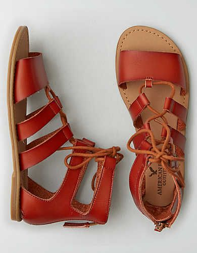4a459531422 AEO Strappy Sandal , Tan | American Eagle Outfitters | fashion ...
