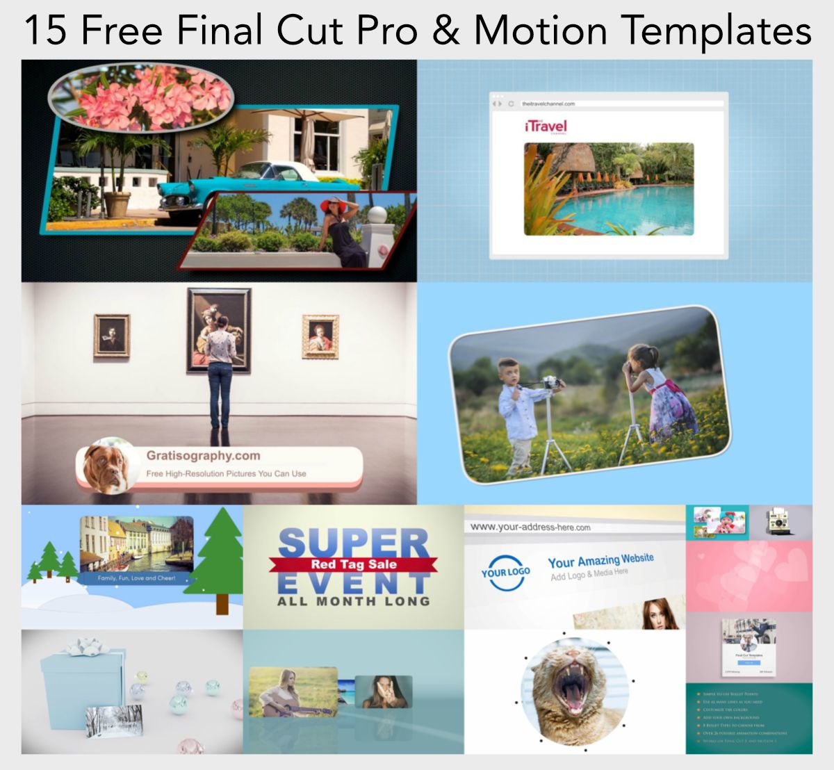 Pin On Final Cut Pro Motion Templates