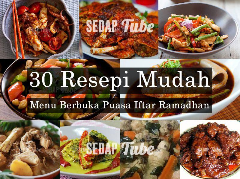 30 Resepi Menu Berbuka Puasa Iftar Ramadhan Paleo Recipes