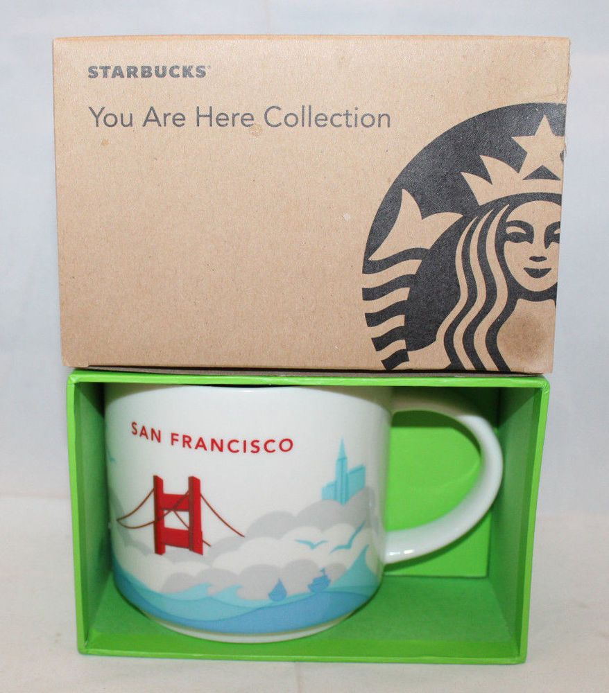 Starbucks You are Here Collection San Francisco SF CA USA