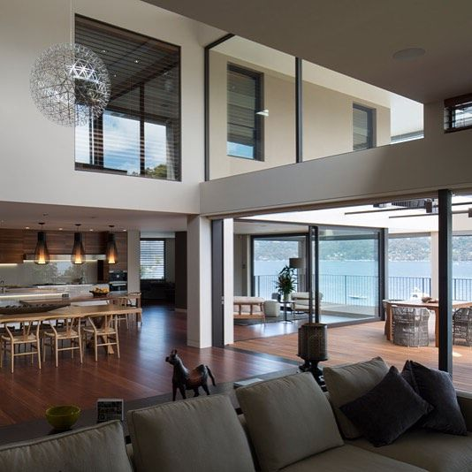 Corben Architects Design A Home That Is A Resort Away From A Resort