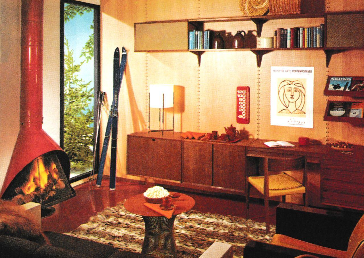 Modern Cabin Bedding: Mid Century ₳tomic