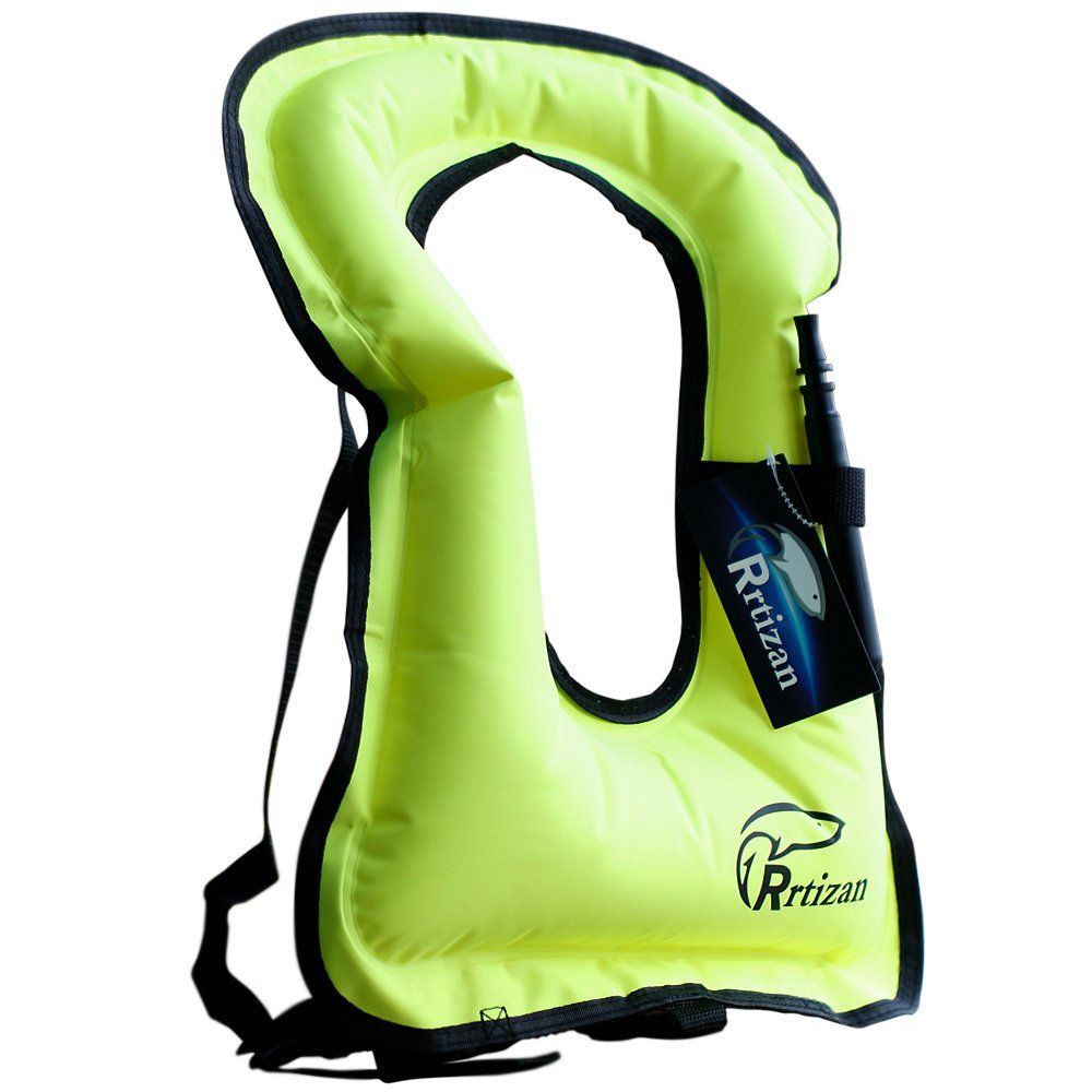 Rrtizan Unisex Adult Portable Inflatable Canvas Life