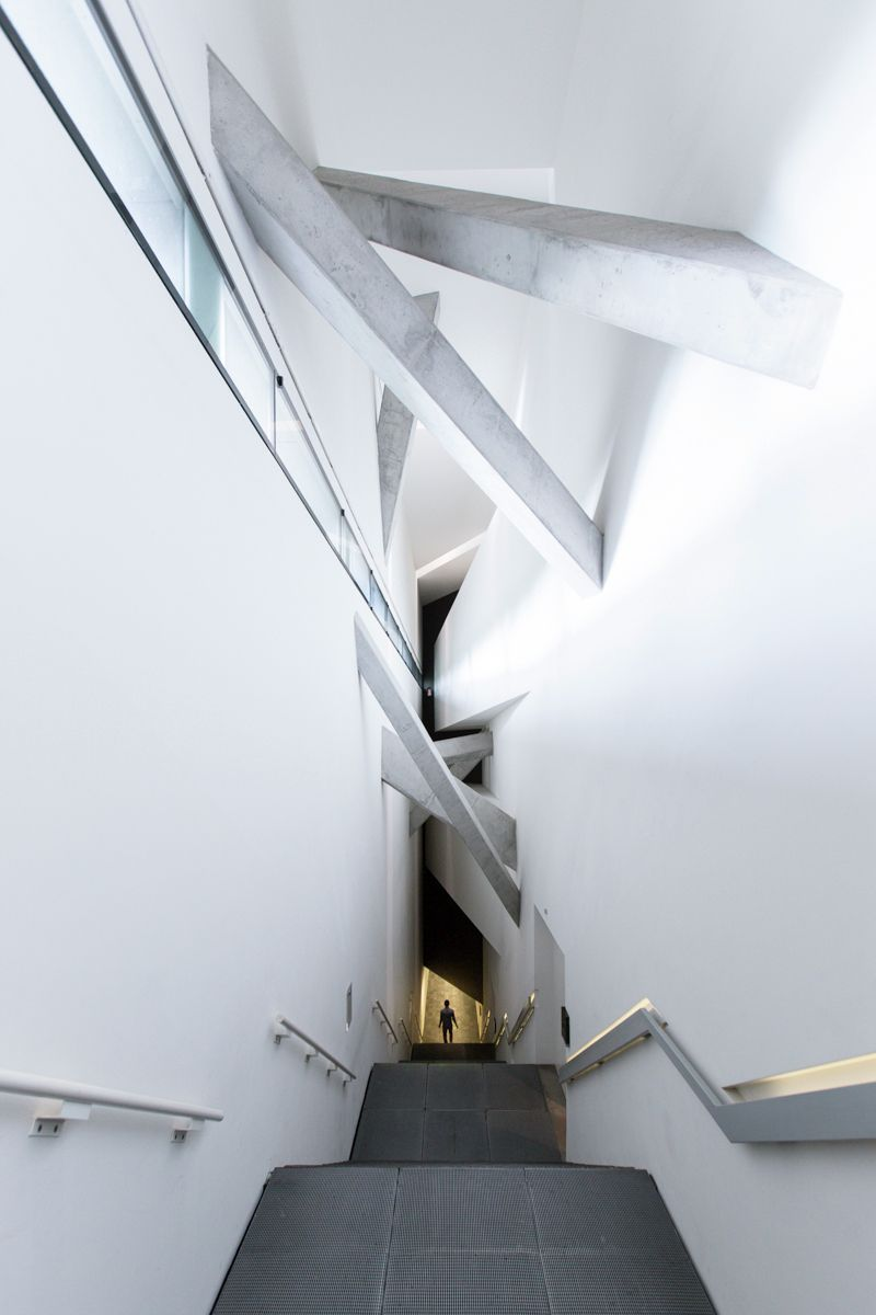 Daniel Libeskind S Jewish Museum Berlin Photographed By Laurian