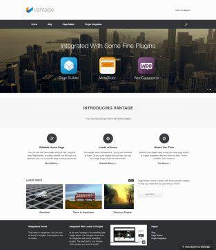 Themes Archive - SiteOrigin   Web Design   Pinterest