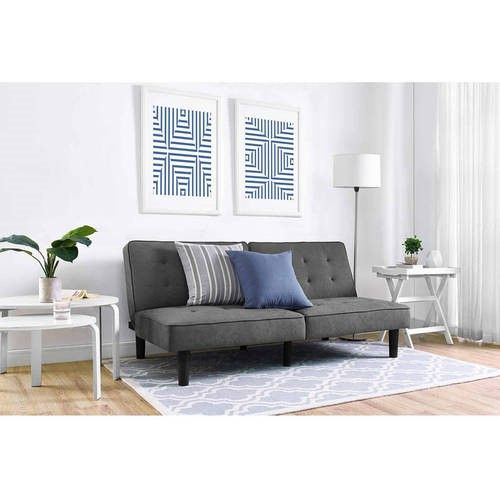 Mainstays Arlo Futon Multiple Colors Grey