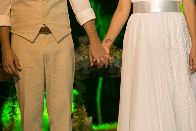 O doce casamento da Fayane e do Alan