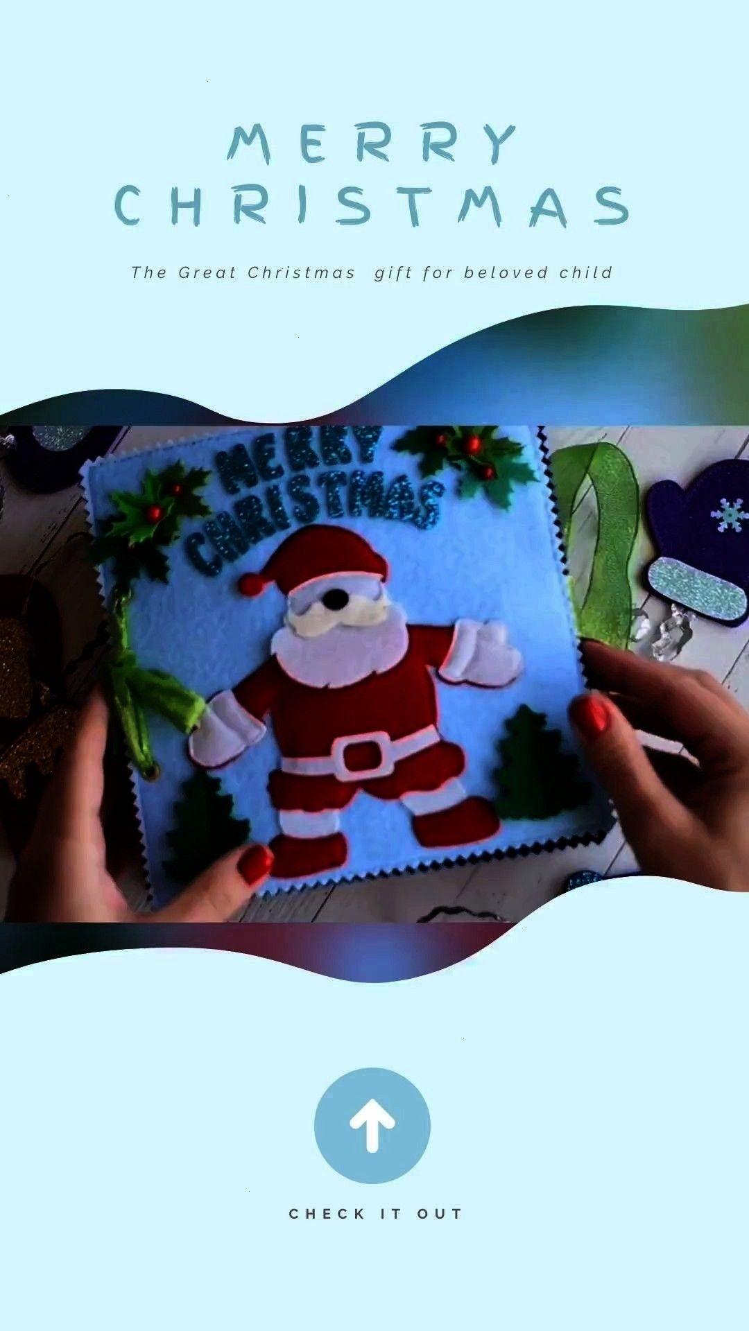 xmas quiet book fine motor skill toy montessori kids sensory pl Christmas busy book unisex xmas quiet book fine motor skill toy montessori kids sensory play  Christmas bu...